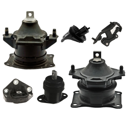 04-06 Acura TL 3.2L Motor & Trans Mount Set 6PCS for Auto Hydraulic