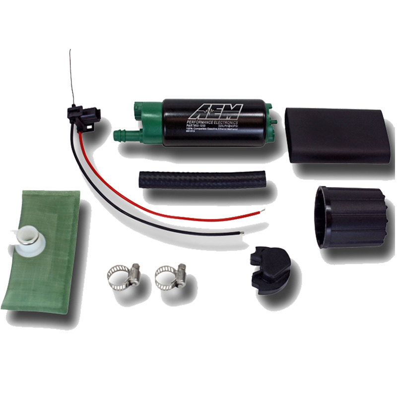 aem 320lph e85 compatible methanol ethanol high flow in tank fuel pump 50 1200 ebay. Black Bedroom Furniture Sets. Home Design Ideas