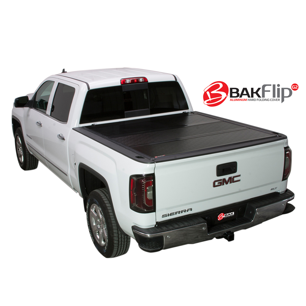 BAK BAKflip G2 Hard Folding Tonneau Cover For 02-16 Dodge